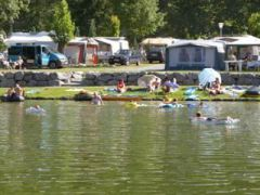 Camping Wolfsee