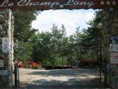 Camping caravaning Le Champ Long