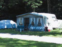 Camping in der Enz