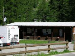 Area sosta camper Tschaval