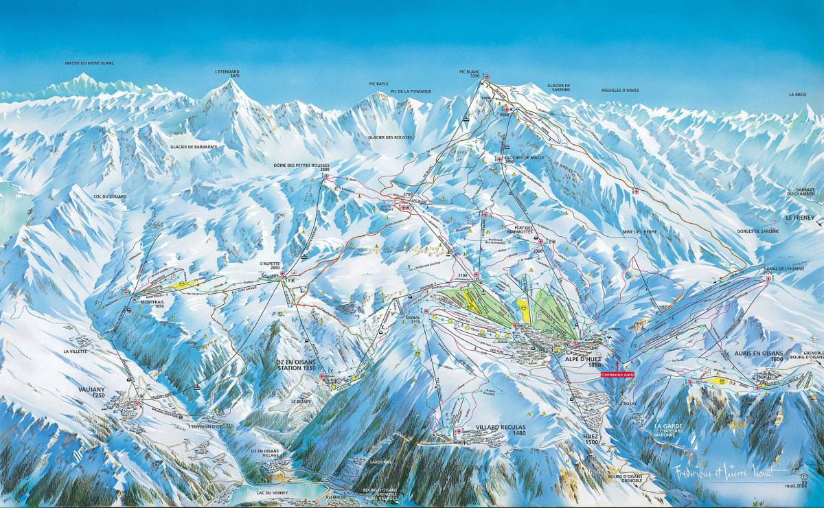 Vaujany ski pass